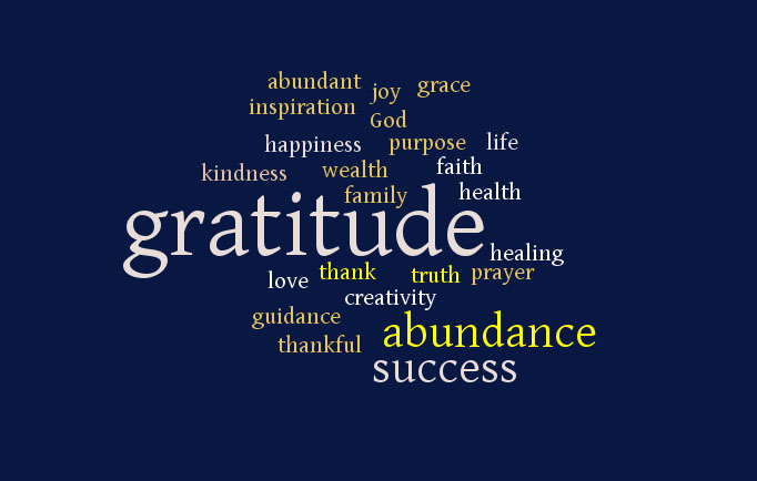 Gratitude is the Key to an Abundant Life